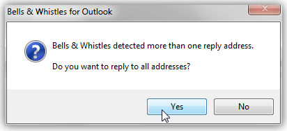 outlook reply to all monitor